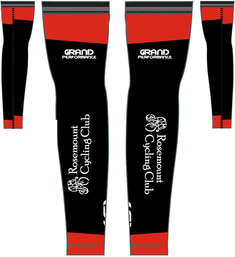 2019  arm warmers  — black with red accents on each end; the back side is shown at 50%