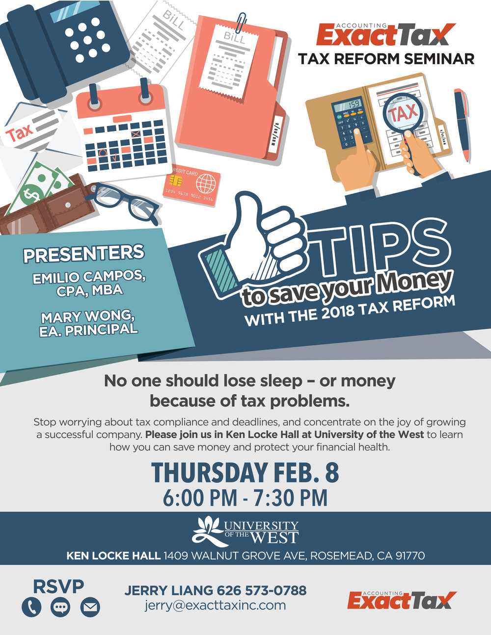 Tax Reform Seminar-English - February 8th, 2018