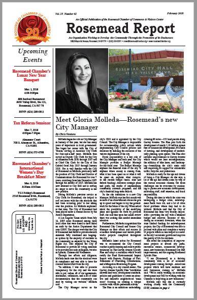 February 2018 - Rosemead Report