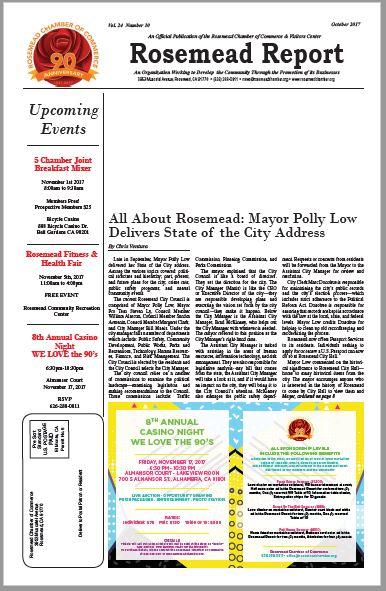 October 2017 - Rosemead Report