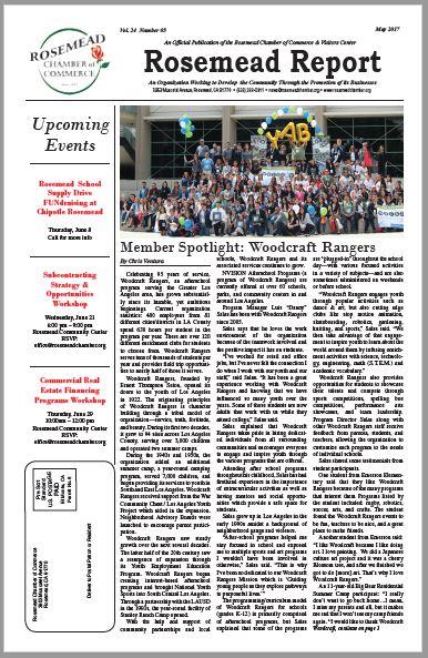 May 2017 - Rosemead Report