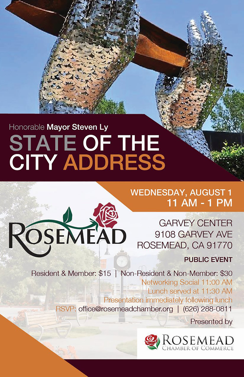 State of the city Address - August 1st, 2018