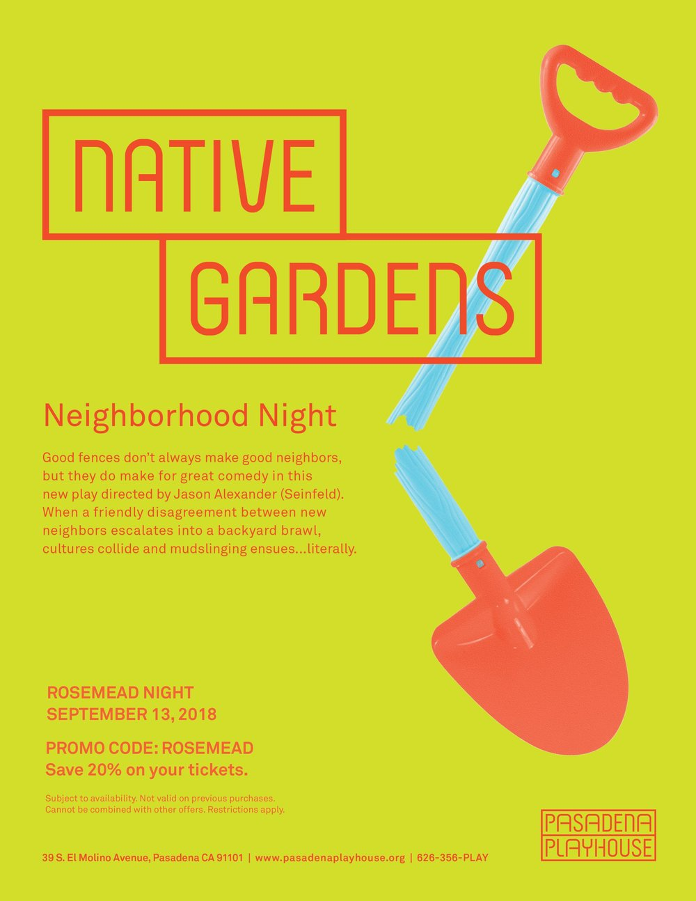 native gardens: rosemead night - September 13th, 2018