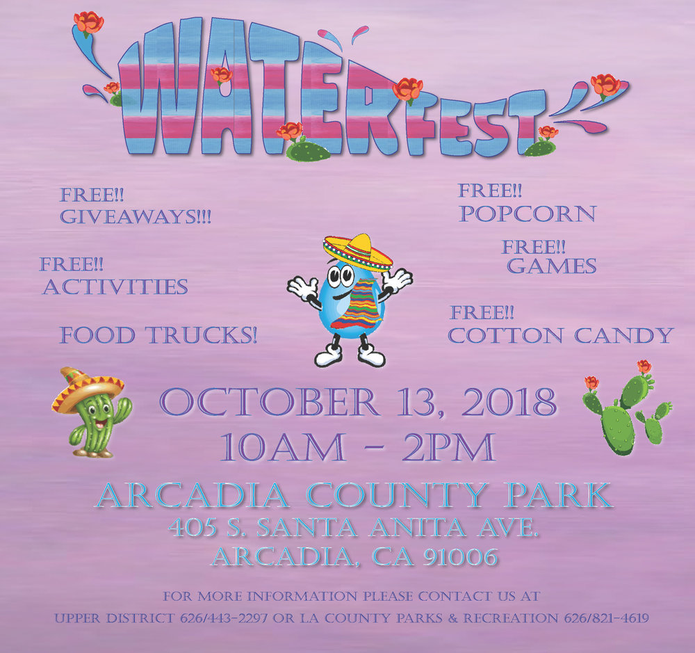 waterfest - October 13th, 2018