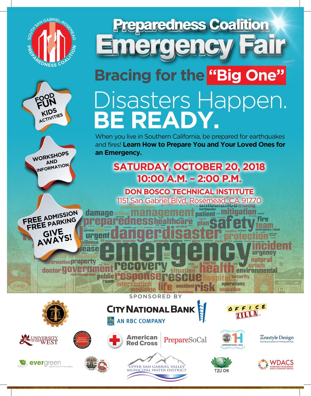 PREPAREDNESS coalition emergency fair - October 20th, 2018