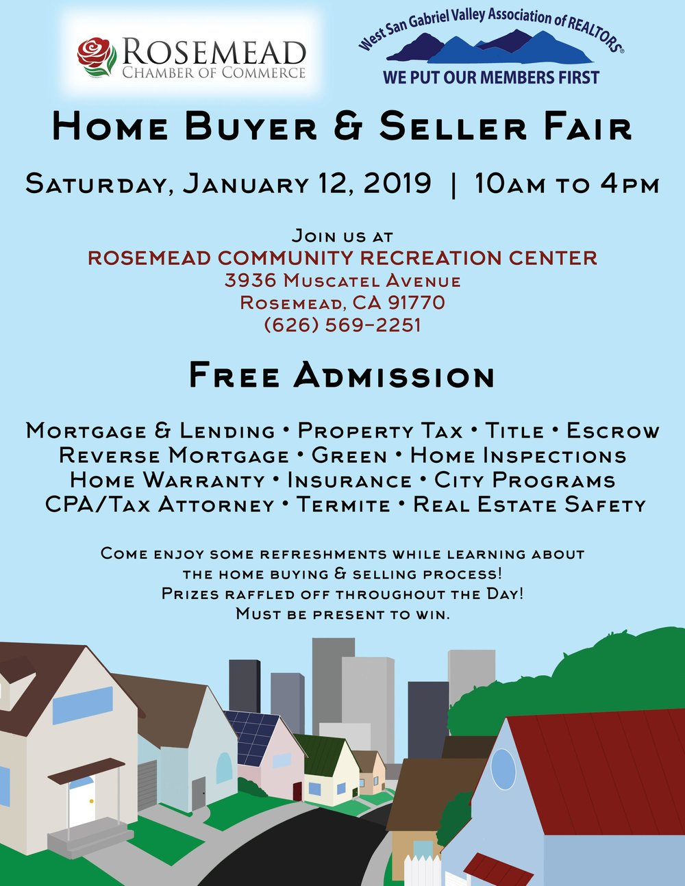 home buyer & seller fair - January 12th, 2019