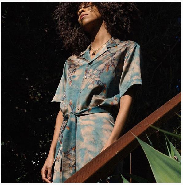 Sustainable fashion design.
