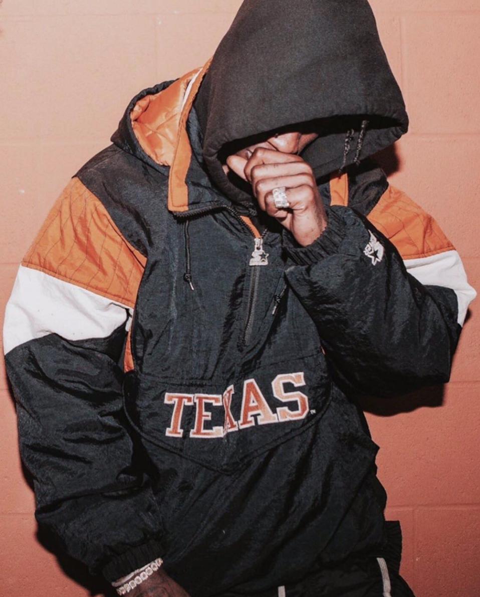 Travis Scott starter jacket