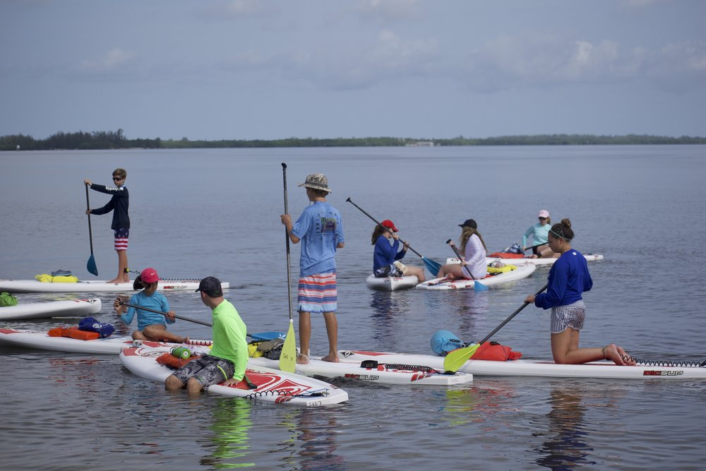 Paddling is a great form of exercise for people of many different ages and physical fitness levels.