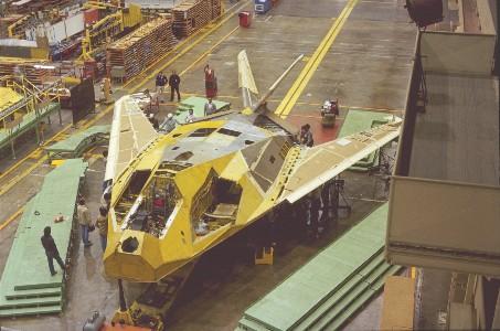 F-117 Production Line
