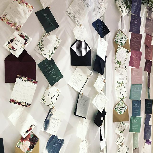 Day 2 at @thenationalweddingshow has been amazing! So many lovely couples looking forward to Day 3 tomorrow 💌🖋