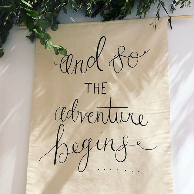 Custom banners have been really popular recently! Such a lovely way to add decoration to your venue in a unique way. Song lyrics, quotes or any wording you require, we've got you covered! Available on custom sizes 🌿💌