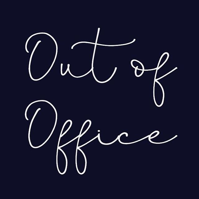 Just a polite notice that I will have very limited access to emails and business social media accounts for approximately one week - (3rd-10th) please be patient in waiting for a reply in this time. Thank you!