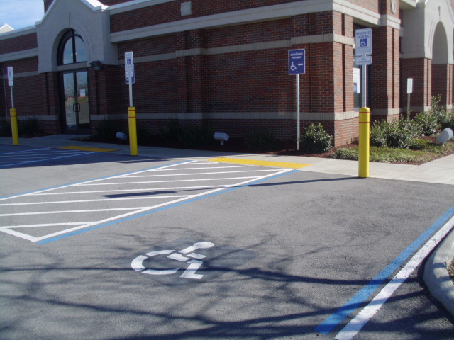 ADA Accessible Parking and Walkway