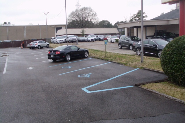 ADA Accessible Parking Spaces