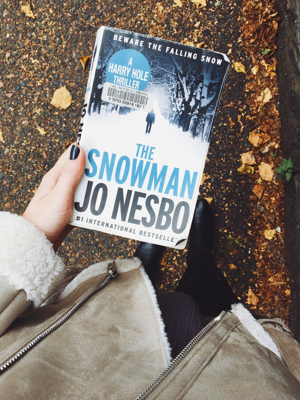 """Beware the falling snow."" -"