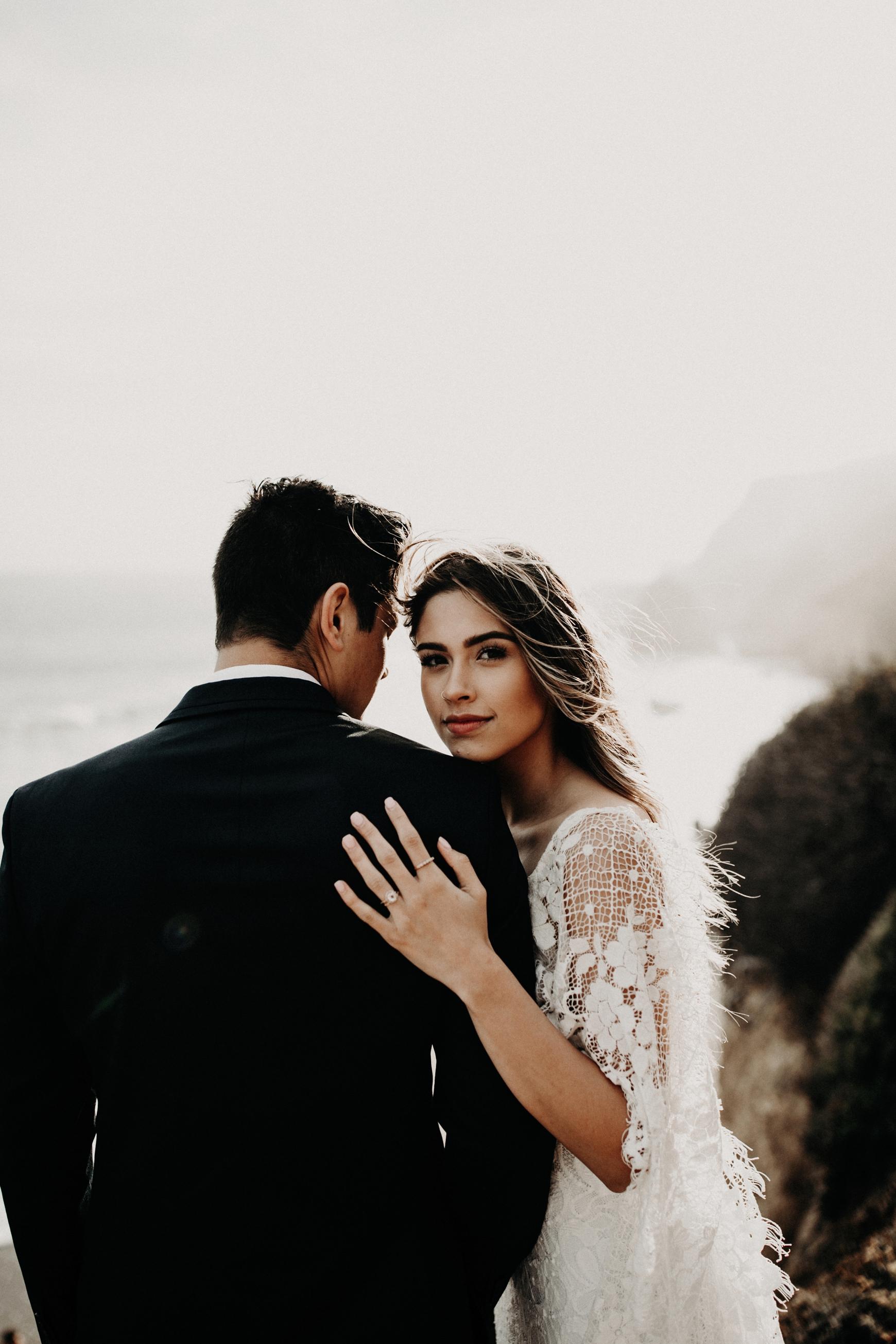 El Matador Beach Bridal Portraits Justellen & TJ Emily Magers Photography-160Emily Magers Photography.jpg