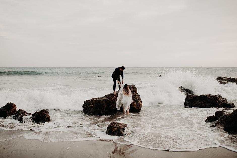 El Matador Beach Bridal Portraits Justellen & TJ Emily Magers Photography-299Emily Magers Photography.jpg
