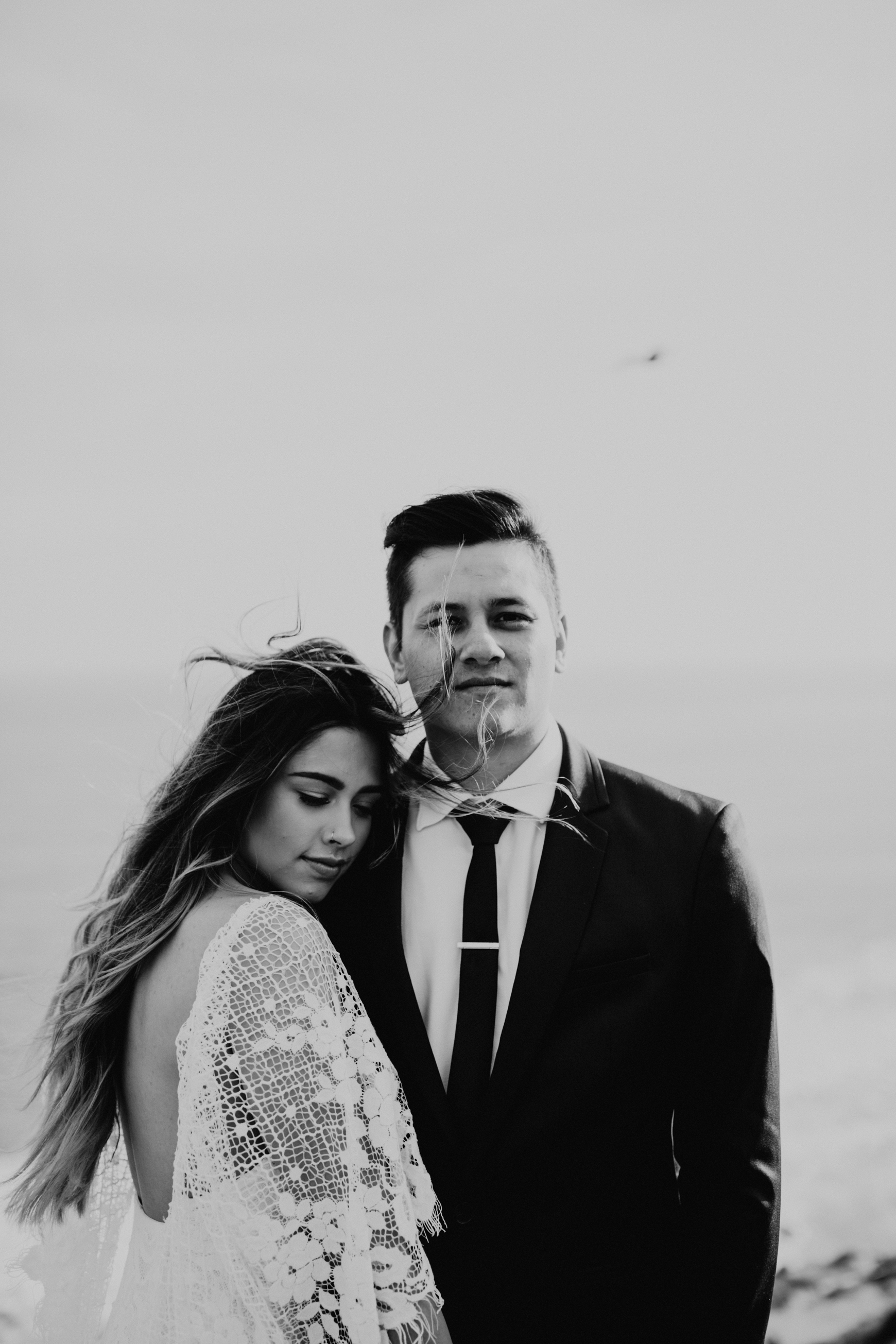 El Matador Beach Bridal Portraits Justellen & TJ Emily Magers Photography-38Emily Magers Photography.jpg