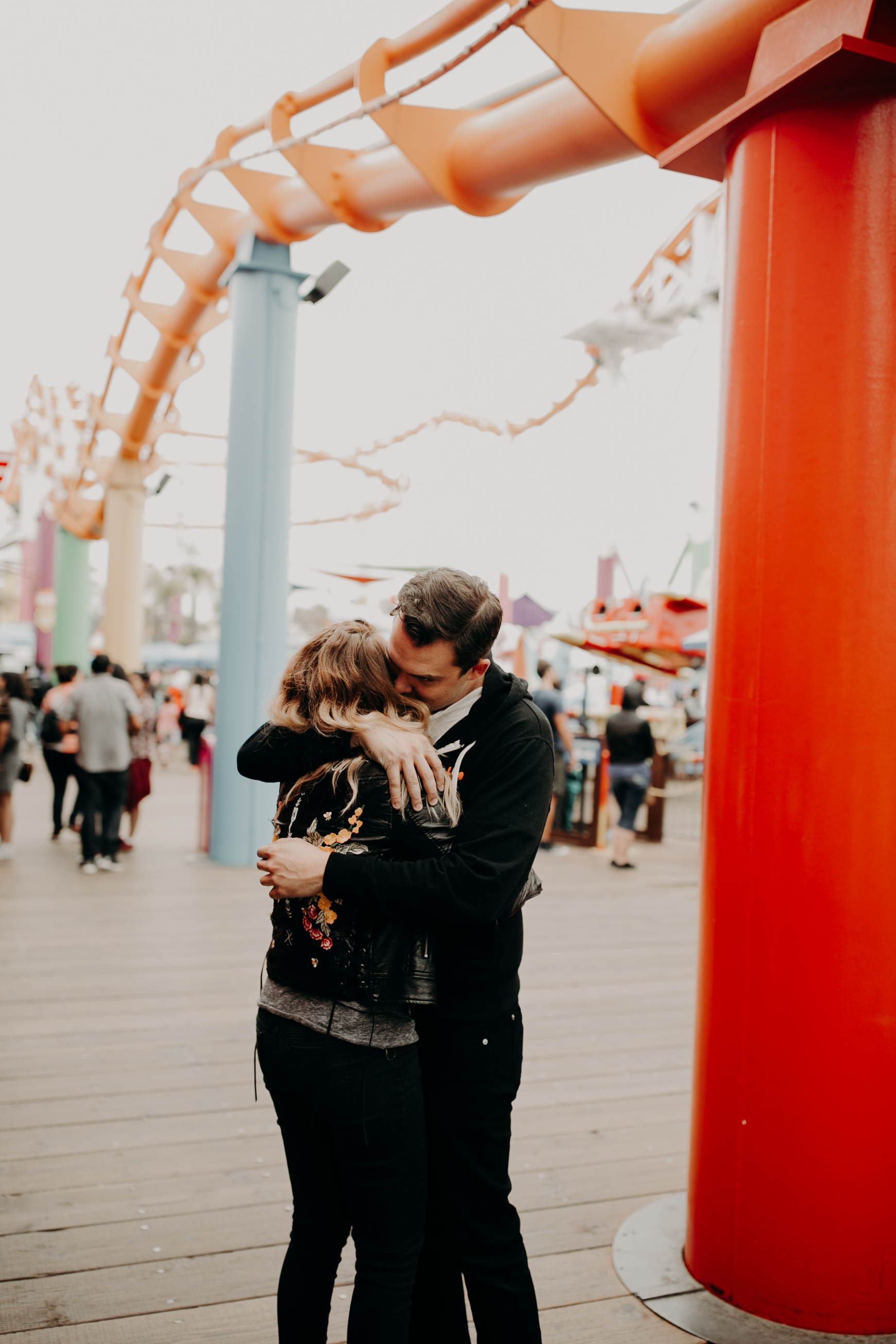 Santa Monica Pier Engagement Loni & Duke Emily Magers Photography-114.jpg