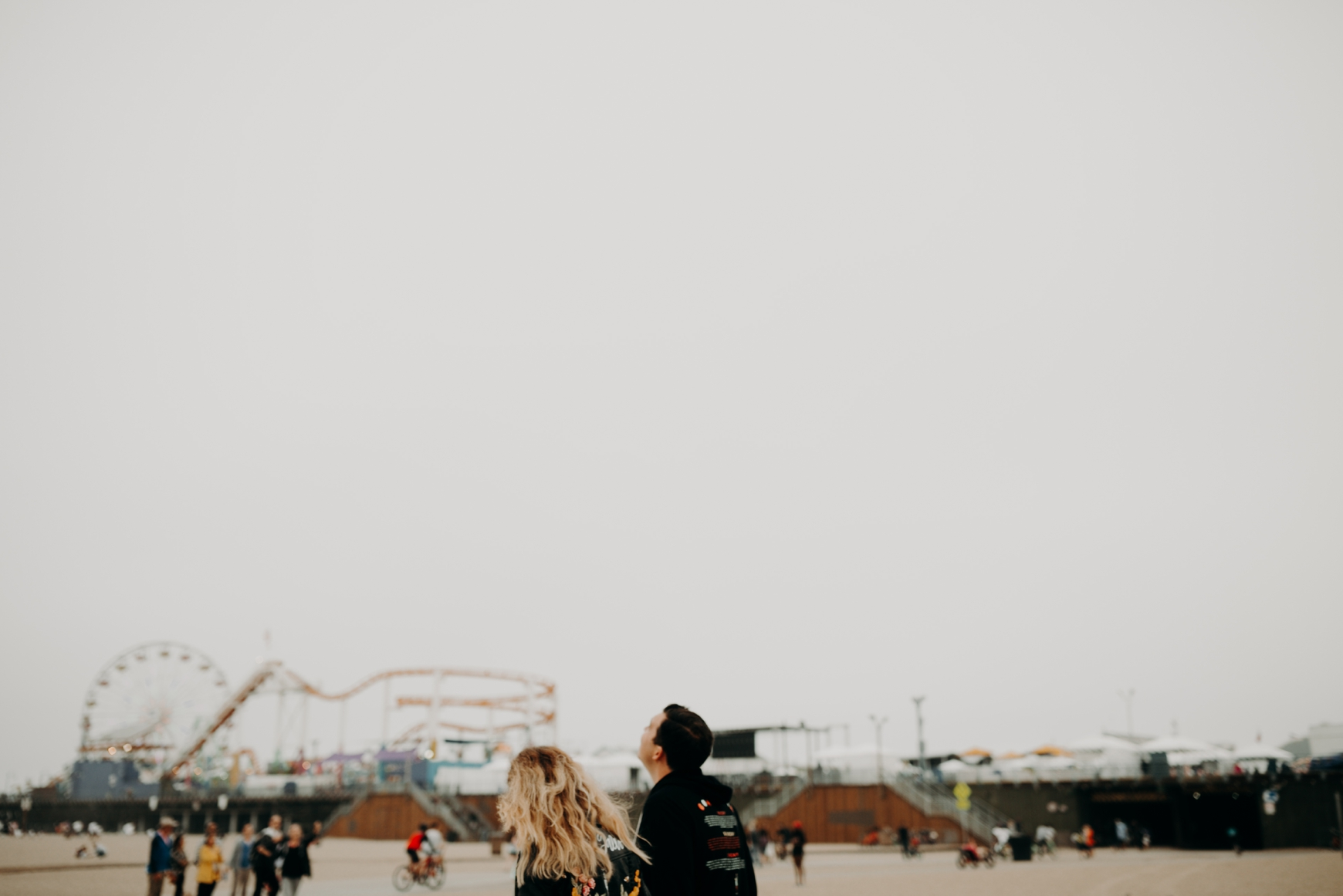 Santa Monica Pier Engagement Loni & Duke Emily Magers Photography-191.jpg