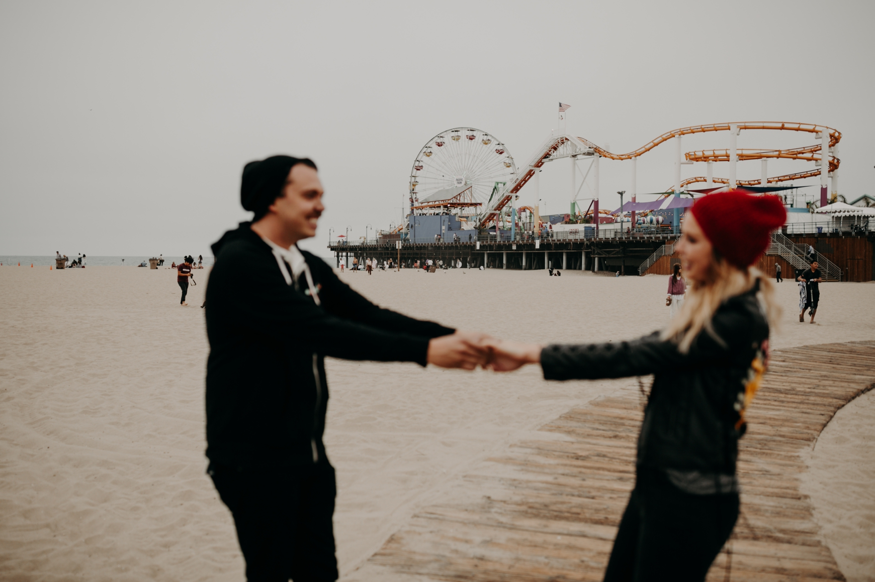 Santa Monica Pier Engagement Loni & Duke Emily Magers Photography-199.jpg