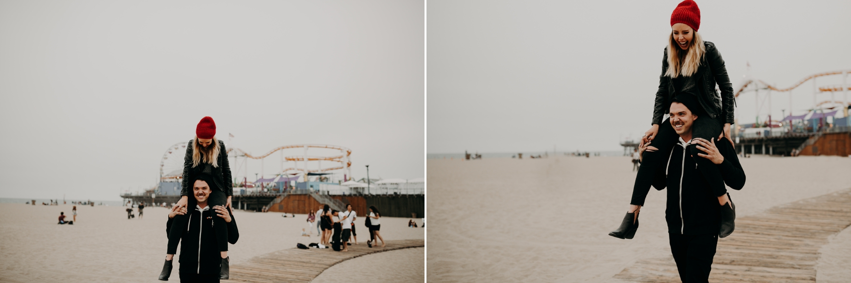 Santa Monica Pier Engagement Loni & Duke Emily Magers Photography-211.jpg