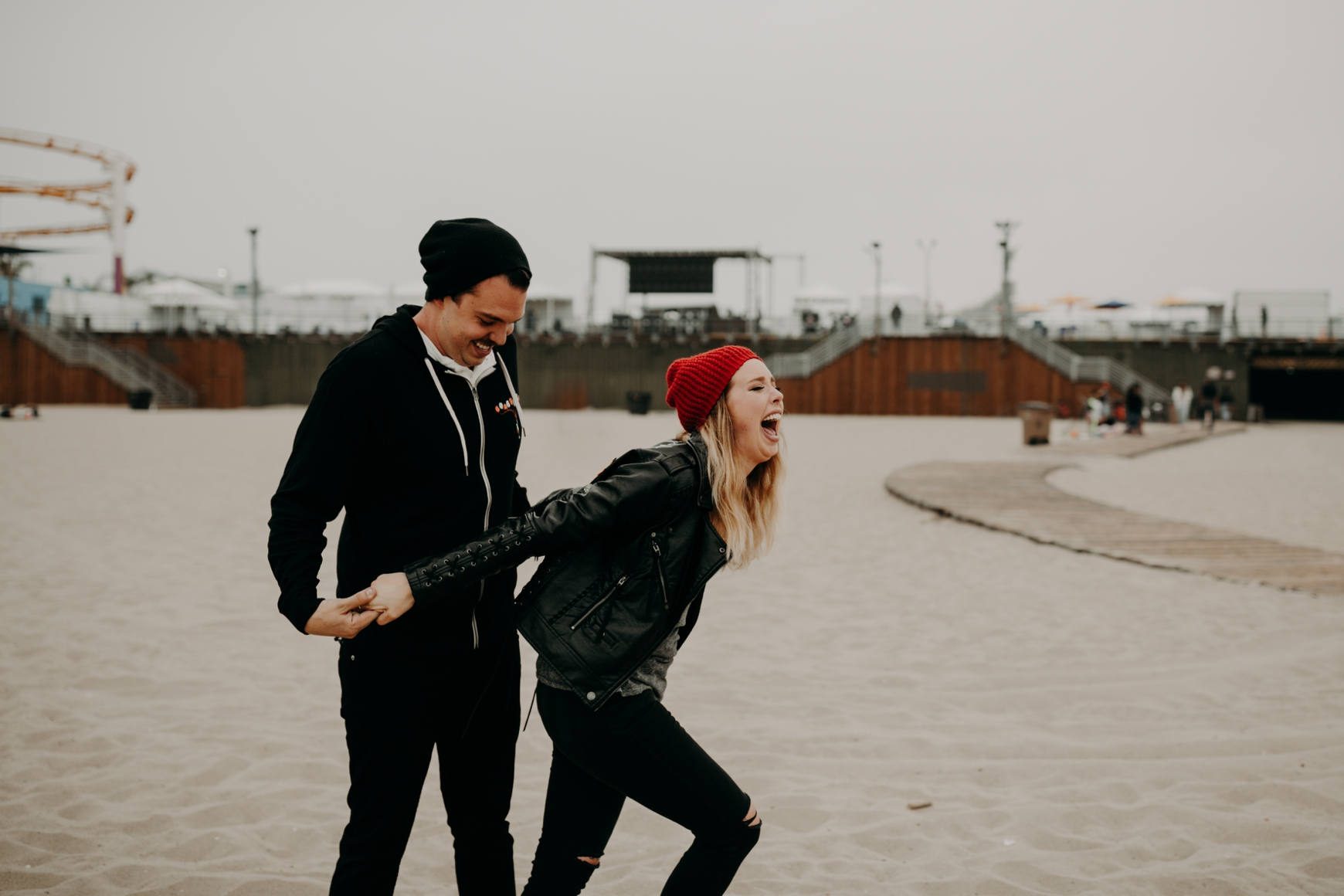 Santa Monica Pier Engagement Loni & Duke Emily Magers Photography-220.jpg