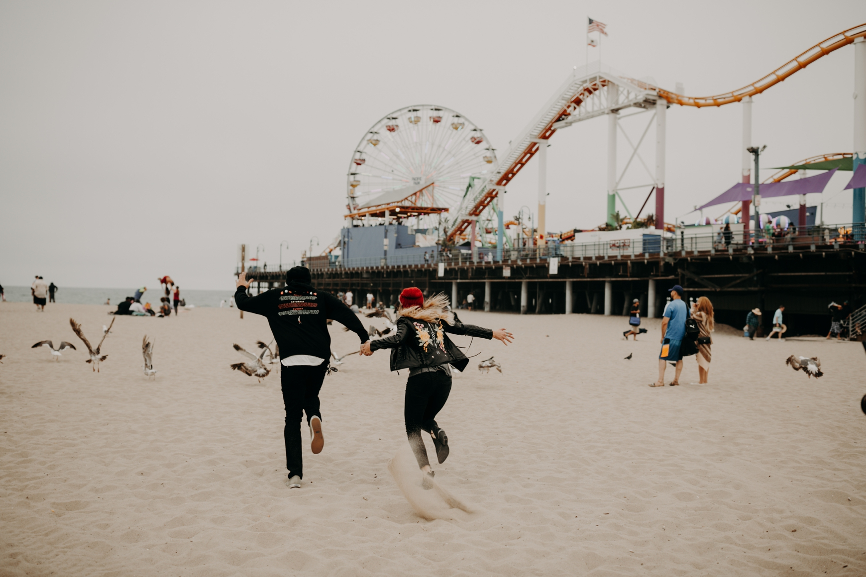 Santa Monica Pier Engagement Loni & Duke Emily Magers Photography-225.jpg