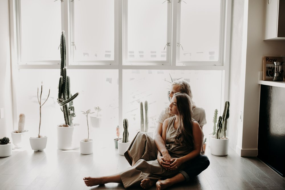 Moody In Home Downtown Los Angeles Anniversary Session Vanessa & Jake Emily Magers Photography-111.jpg
