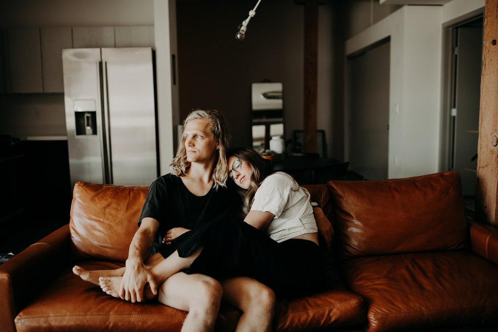 Moody In Home Downtown Los Angeles Anniversary Session Vanessa & Jake Emily Magers Photography-58.jpg