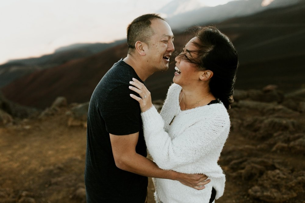 02_Haleakala National Park Maui Engagement Session Krystal & Allan | Emily Magers Photography-9.jpg