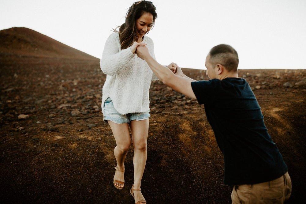 21_Haleakala National Park Maui Engagement Session Krystal & Allan | Emily Magers Photography-132.jpg