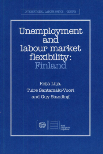 Unemployment and Labour Market Flexibilitv: Finland , with R. Lilja and T. Santamäki-Vuori (Geneva: ILO, 1990).      Translations    ●    Details