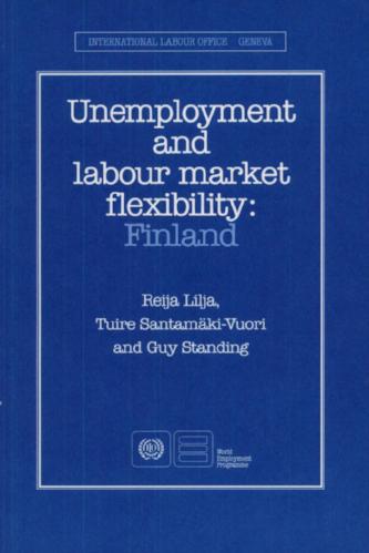 Unemployment and Labour Market Flexibilitv: Finland , with R. Lilja and T. Santamäki-Vuori (Geneva:ILO, 1990).    Translations  ●  Details