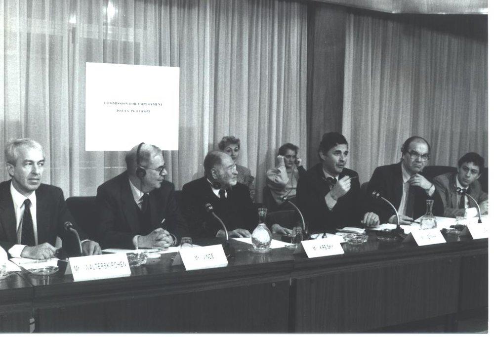 Kreisky Commission, Paris, 1989