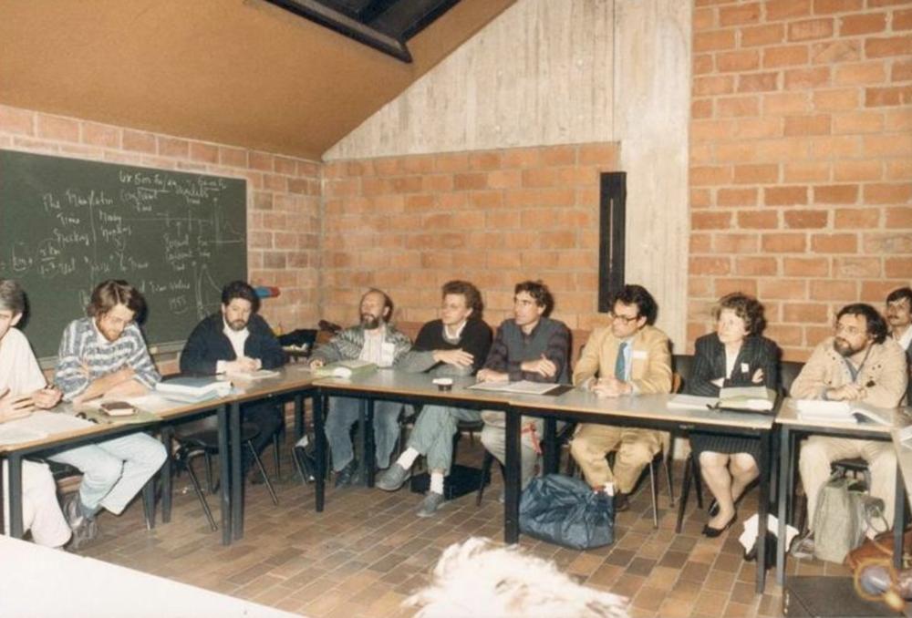 BIEN Launch, Louvain-la-Neuve, 1986