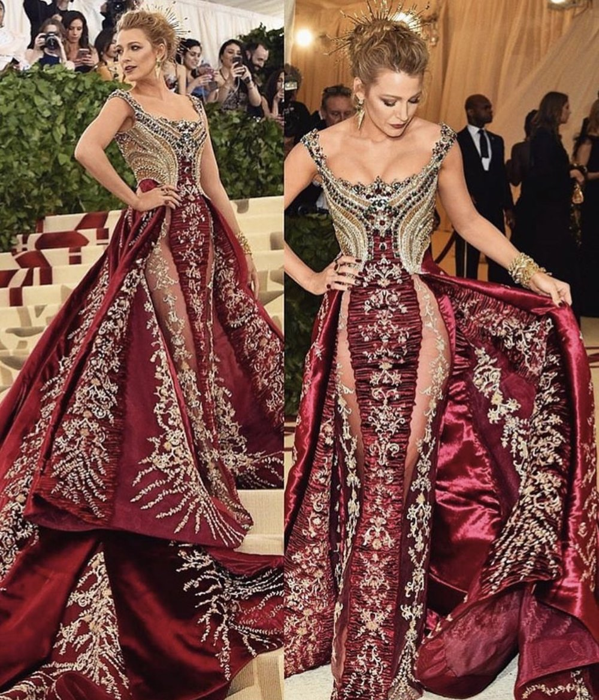 Wearing Atelier Versace!