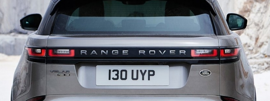"Make that ""RANGE ROVER"" font any larger and you'll need a wider liftgate. Photo: Land Rover"