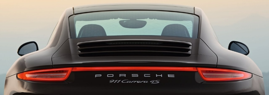 "Does all this affect my weight distribution? The ""PORSCHE"" and ""911"" part never used to be necessary. Photo: Porsche"