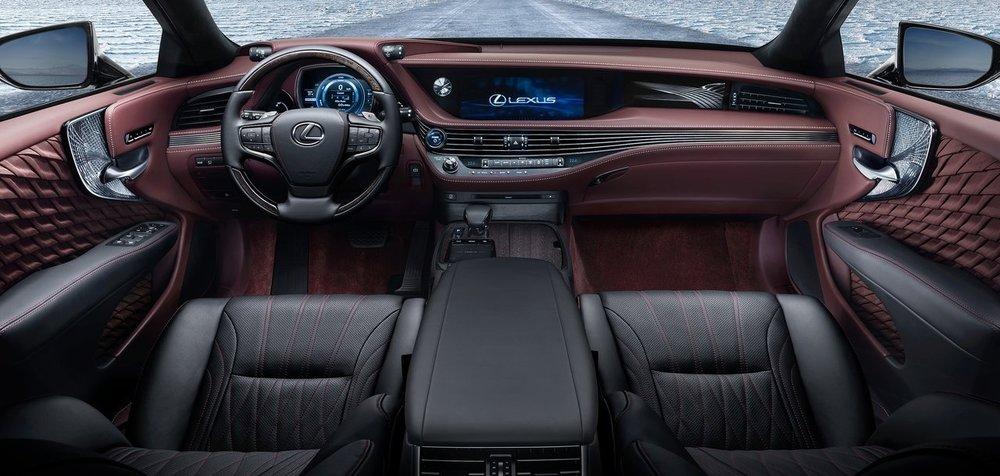 Lexus LS. Photo: Lexus
