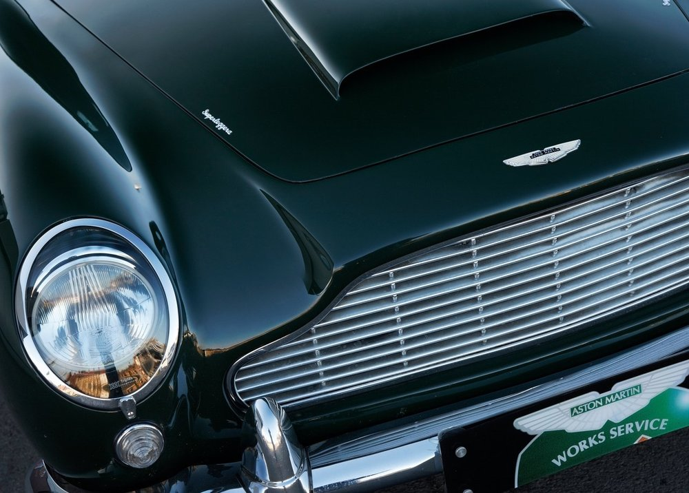 Paint, Chrome, Glass, very little else on this DB5. Photo: Aston Martin