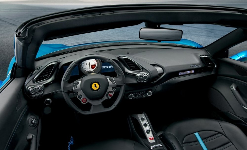 Ferrari 488. Busy, complex form, fussy details, lack of harmony, the pursuit of something new. Photo: Ferrari