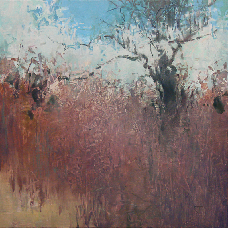 Randall David Tipton, Bryant Marsh, oil, 20″x20″