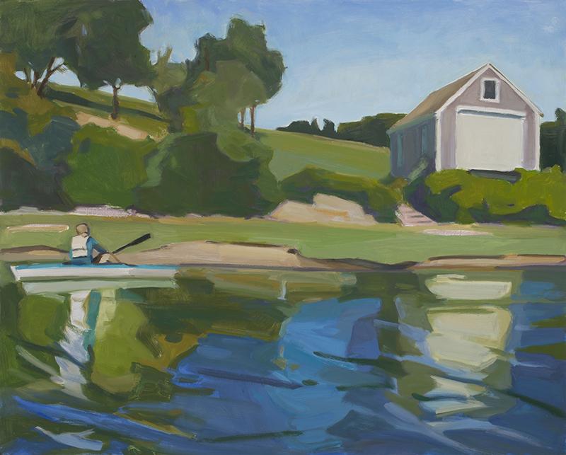 "Anne Ward, ""Lucid Dream,"" oil, 30×40 in."