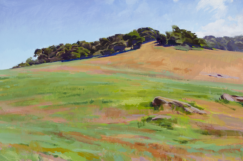 Morning Light on the East Pasture (Reagan Ranch)