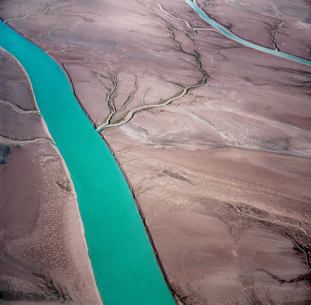 Bill Dewey, Baja Tidal Channel, photograph, 16x16 in.