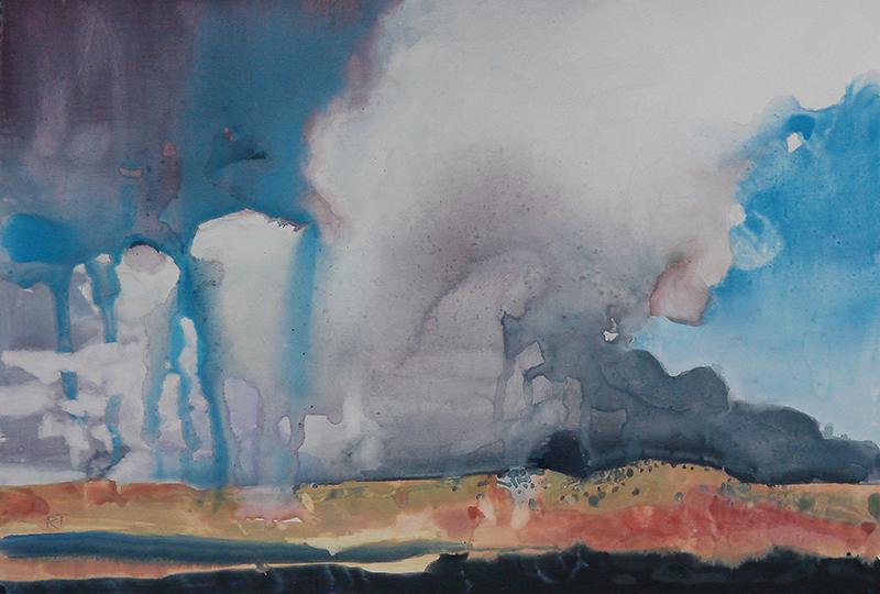 tipton-Southeast Wyoming watercolor on Terraskin 8.5x13.5  $400 .jpg