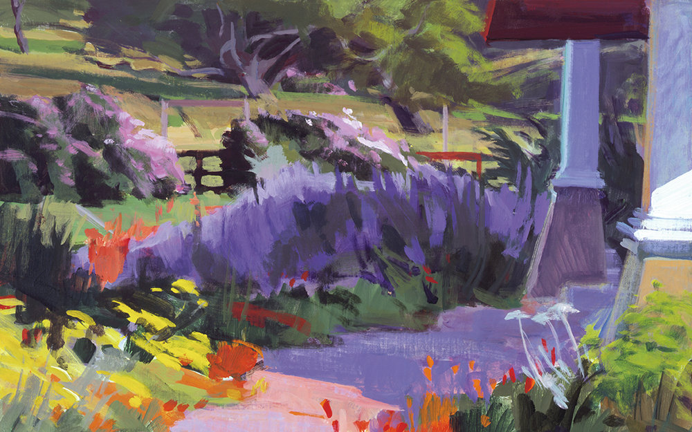 The Artist's Garden - a creative ranch retreat