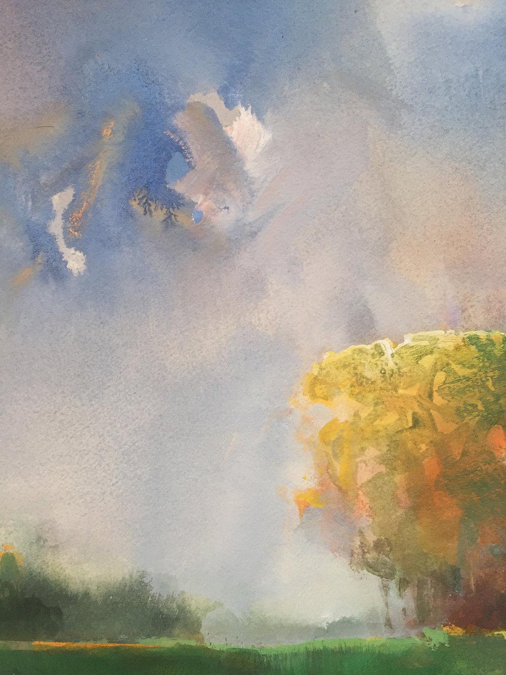 Randall David Tipton , Sauvie Island Landscape , detail.